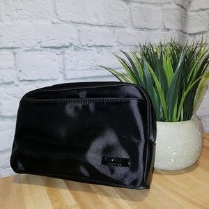 CHANEL Parfums Makeup Bag in Black
